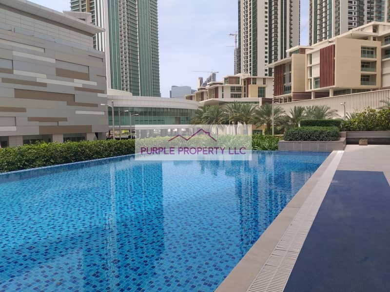 2 Spacious 2 bedroom apartment available for rent in Marina square just 75k