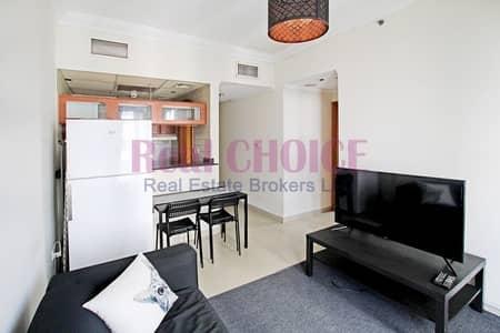 فلیٹ 1 غرفة نوم للايجار في دبي مارينا، دبي - Fully Furnished 1BR|Full Marina View|Near to Metro