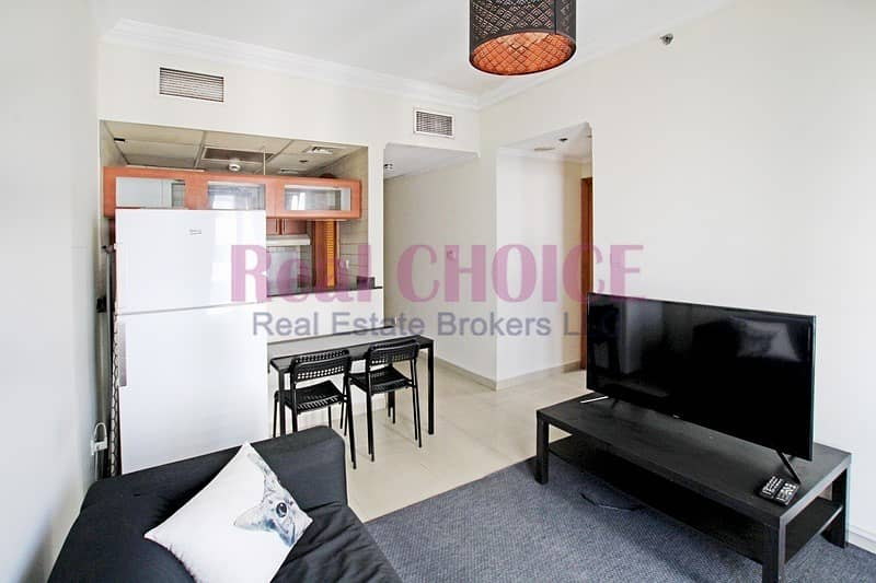 Fully Furnished 1BR|Full Marina View|Near to Metro