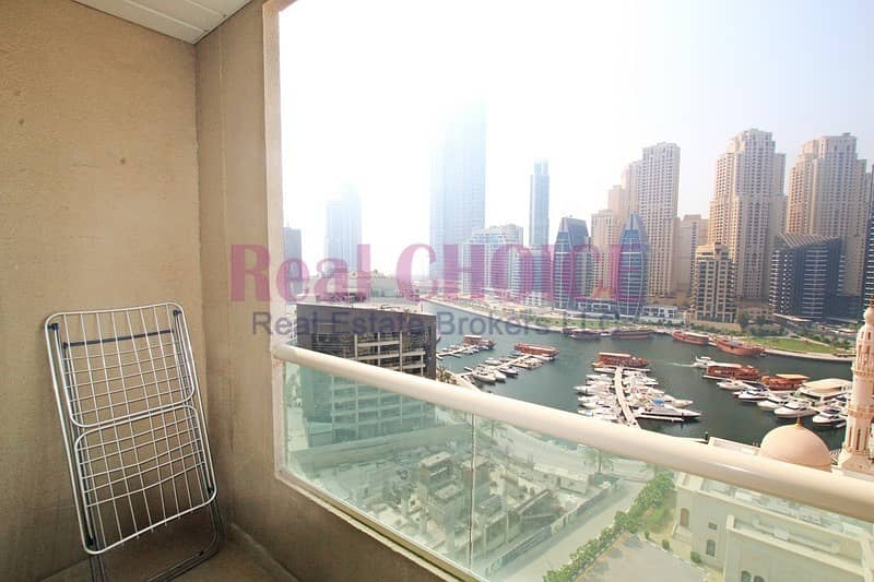 12 Fully Furnished 1BR|Full Marina View|Near to Metro