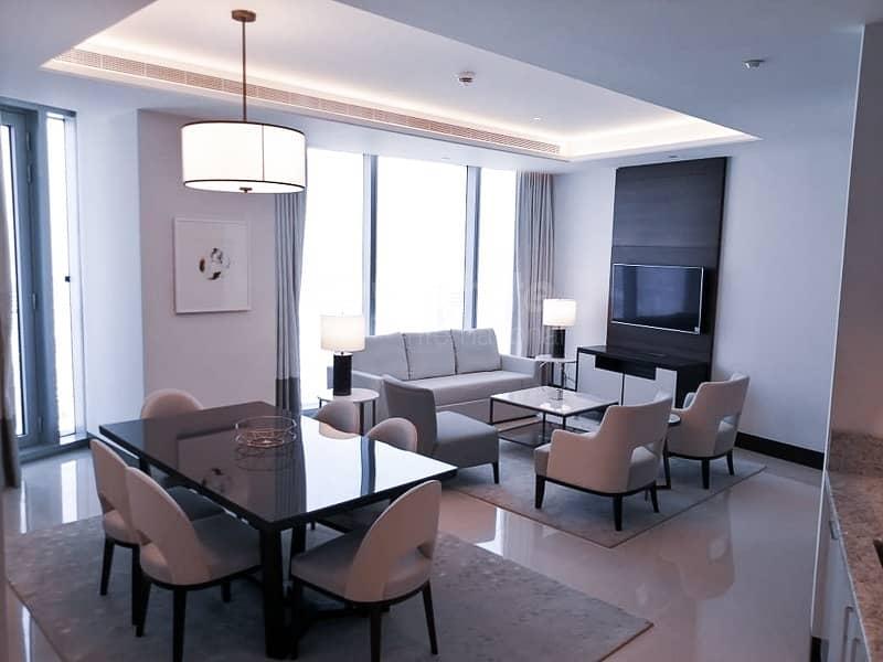 2 Luxury Fully Furnished I Sea View w/ Balcony I High Floor