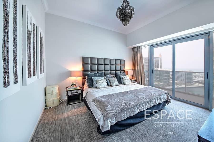 Upgraded | 3 Beds | Marina View | Maids