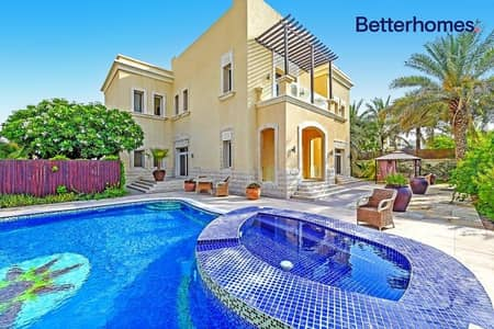 5 Bedroom Villa for Rent in Emirates Hills, Dubai - Lake View|  Private Pool | Unfurnished | Sector E