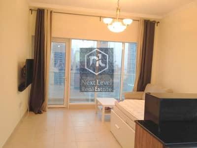 Studio for Rent in Downtown Dubai, Dubai - FURNISHED STUDIO IN AL NAJOOM TOWER-DOWNTOWN DUBAI