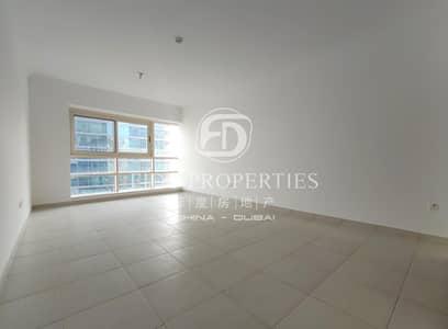 فلیٹ 1 غرفة نوم للايجار في دبي مارينا، دبي - High floor | Great Marina view | Vacant
