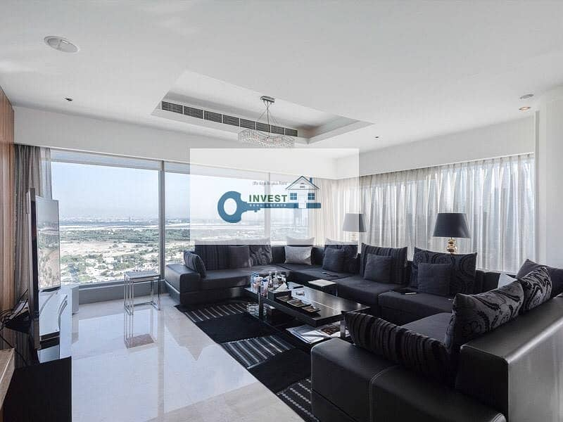 2 LUXURY FURNISHED 3 BEDROOM | HIGH END GLASS AND CEILING | INCLUDED ALL UTILITIES