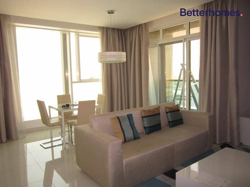 2 Fully Furnished | On High Floor | Canal View