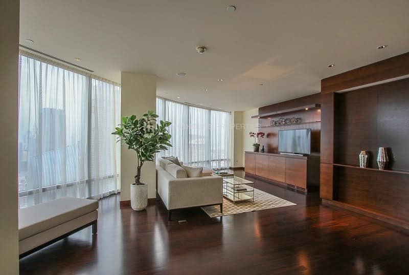 2 Spacious 2BR|Burj Khalifa|No Pillars