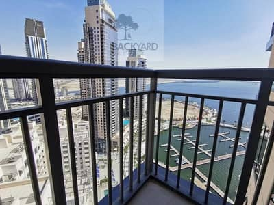 1 Bedroom Apartment for Rent in The Lagoons, Dubai - Full Water View | High floor | Brand New
