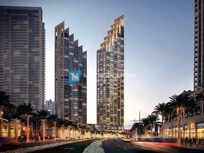 شقة 2 غرفة نوم للبيع في وسط مدينة دبي، دبي - Resale| 2 years post handover|High flr.| Burj view