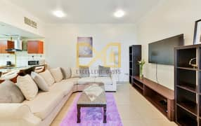 Fully furnished Elegant 3 bedroom for rent in Marina Pinnacle Tower