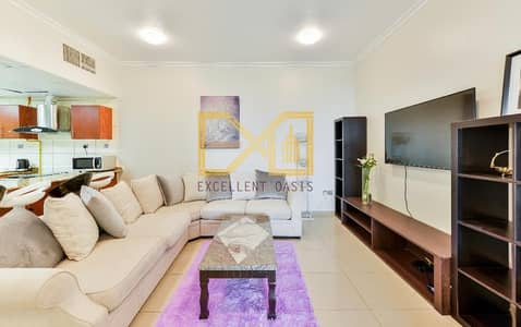 شقة 3 غرف نوم للايجار في دبي مارينا، دبي - Fully furnished Elegant 3 bedroom for rent in Marina Pinnacle Tower