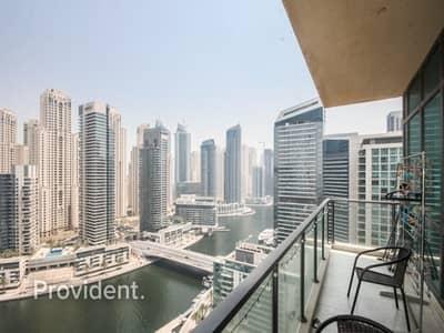 2 Bedroom Flat for Sale in Dubai Marina, Dubai - Full Marina View | Rare to Market | Rented