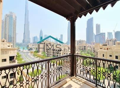 3 Bedroom Apartment for Rent in Old Town, Dubai - Bright & Spacious   Burj khalifa view