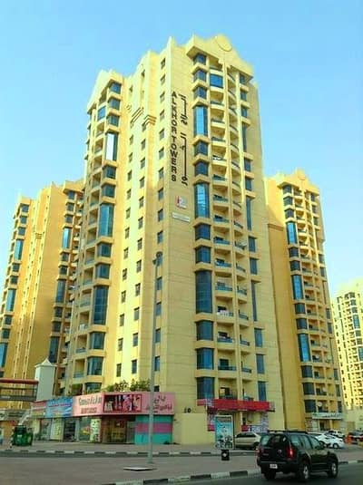 1 Bedroom Apartment for Rent in Ajman Downtown, Ajman - ALKHOR TOWER: OPEN VIEW SEA VIEW 1 BEDROOM HALL