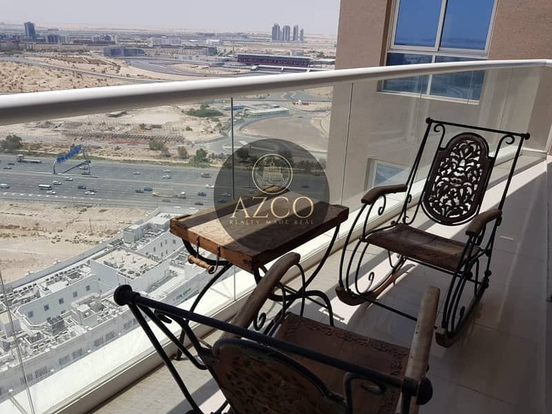 2 HIGH END FINISHING  FULLY FURNISHED 1 BR  READY TO MOVE IN