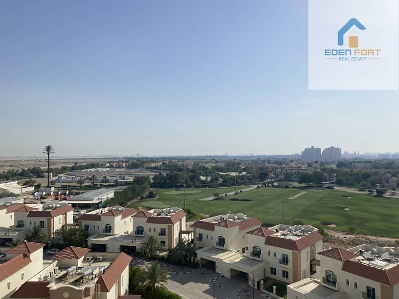 11 GOLF VIEW UN-FURNISHED STUDIO IN SPORTS CITY FOR RENT..
