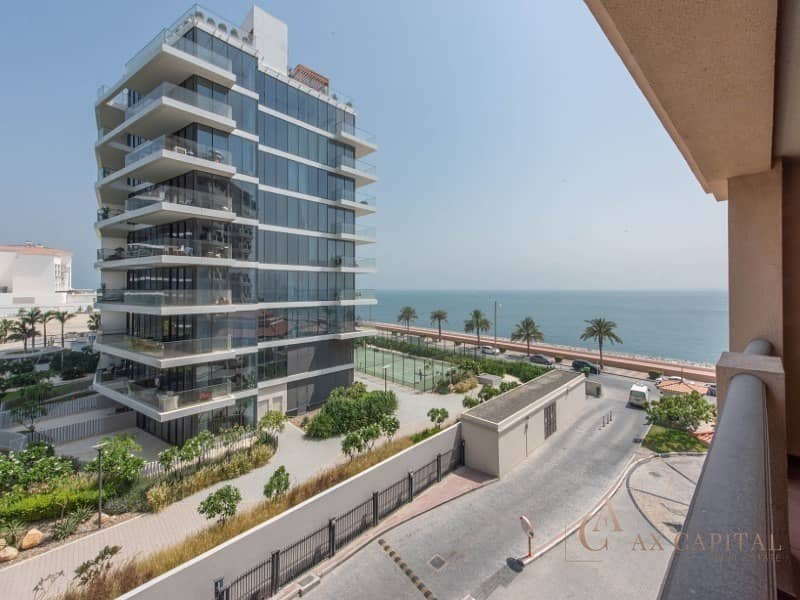 Sea View I Huge Balcony I Furnished 2 Bedroom