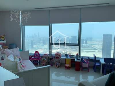 3 Bedroom Flat for Rent in Al Reem Island, Abu Dhabi - Hot Deal -Vacant Soon! Spacious 3 BR+1 High Floor : Sky Tower