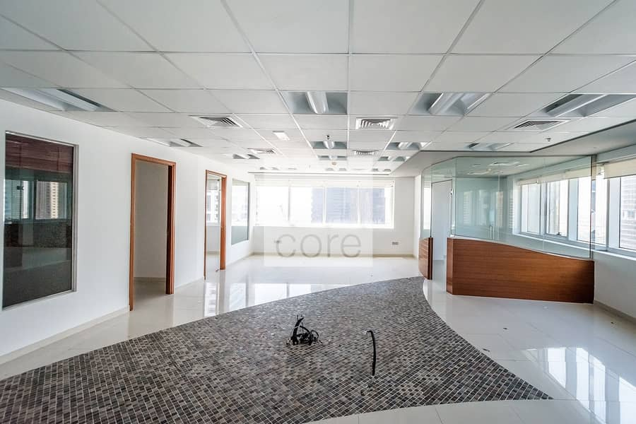 Fitted and Partitioned Office | High Floor