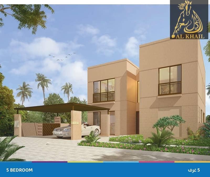 2 Ready To Move In Al Zahia Brand New 5 Br Villa