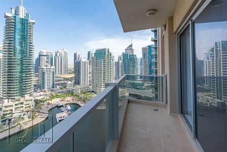 3 Bedroom Apartment for Rent in Dubai Marina, Dubai - Panoramic Marina View | 2 Large Balconies