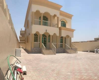 5 Bedroom Villa for Rent in Al Mowaihat, Ajman - VILLA FOR RENT 5 BEDROOM HALL MAJLIS ALL NEW MAINTENANCE WITH AC NEAR MAIN ROAD IN AL MOEWHAIT AJMAN