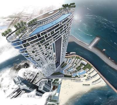 1 Bedroom Apartment for Sale in Jumeirah Beach Residence (JBR), Dubai - Premium Fully Serviced 1BR Beachfront Aparment - Investors Choice!!