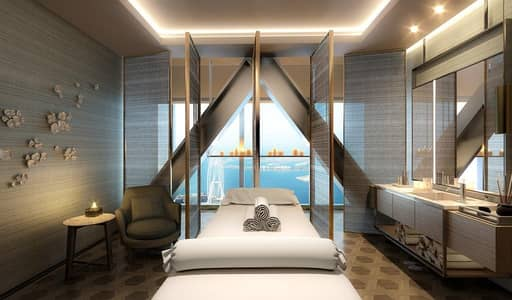 2 Bedroom Apartment for Sale in Jumeirah Beach Residence (JBR), Dubai - 2BR+1  Luxury Furnished Apartment(Resort+Spa) - Beachfront