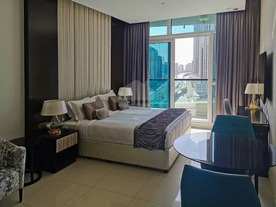 Studio for Rent in Downtown Dubai, Dubai - Fully furnished  | managed studio | kitchen fitted