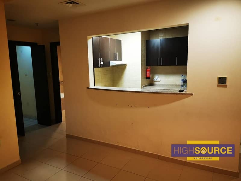 2 Bright & Specious 1 BHK for Rent in Mazaya-1