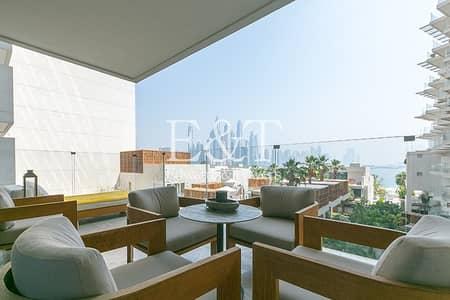 شقة 2 غرفة نوم للايجار في نخلة جميرا، دبي - Exclusive: Vacant Luxury Furnished on Low Floor
