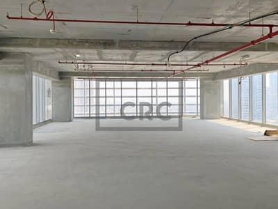 مکتب  للبيع في الخليج التجاري، دبي - Grade A | High Floor | Burj Khalifa | Metro