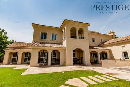 6 Bedroom Villa for Sale in Arabian Ranches, Dubai - Polo Field Facing | Type A | Landscaped + Pool
