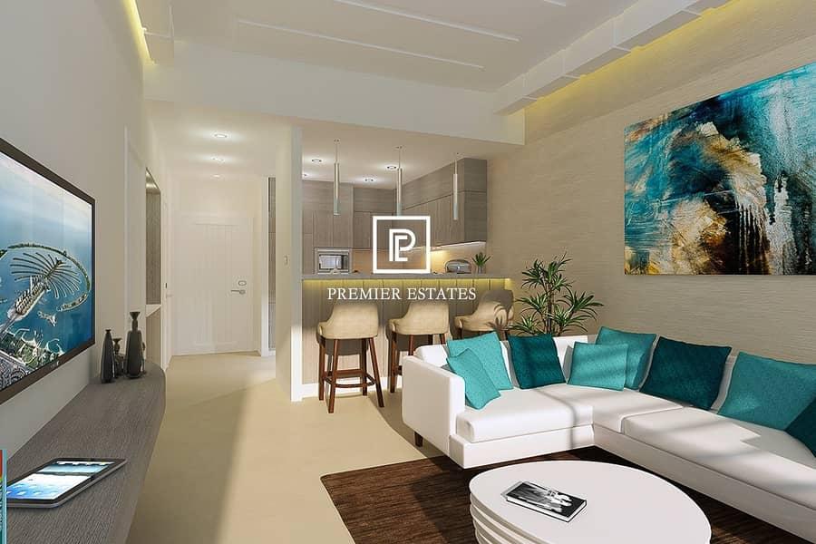 2 Fantastic Views - 1 Bedroom Hotel Apartment