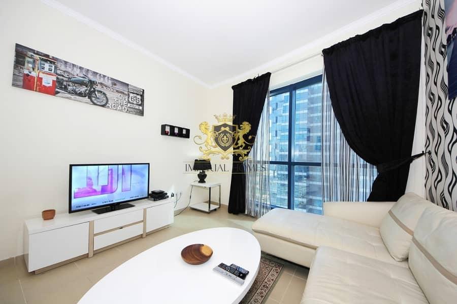 2 Furnished | Duplex | Balcony | High Floor