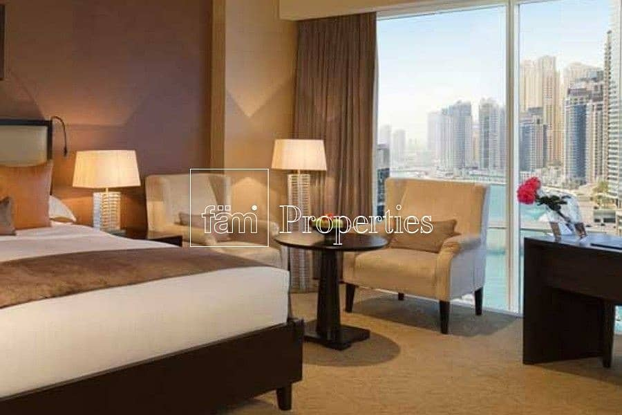 Stunning Bright Studio | High Floor | Marina view