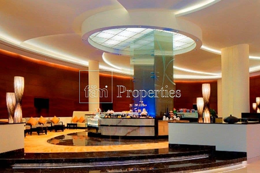 2 Stunning Bright Studio | High Floor | Marina view