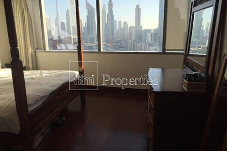 1 Bedroom Flat for Rent in World Trade Centre, Dubai - Unfurnished | SZR & City View vacant July