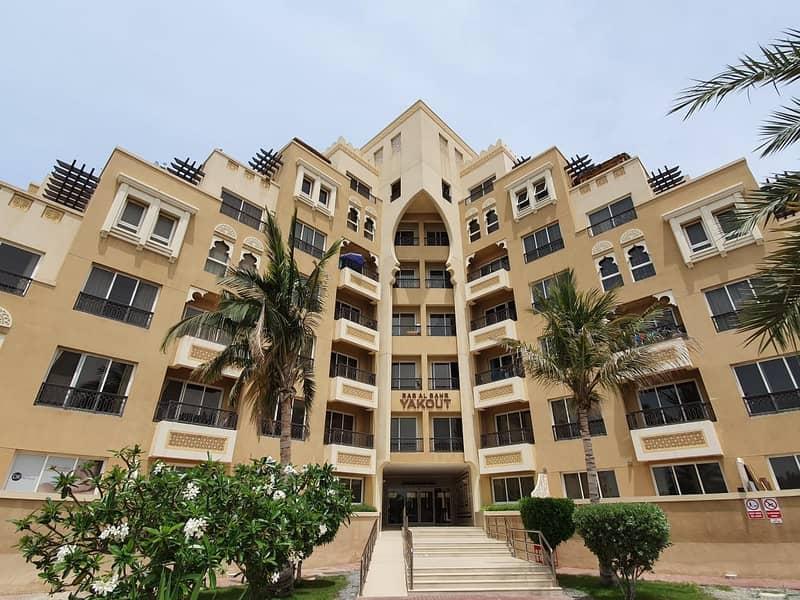 شقة في باب البحر جزيرة المرجان 1 غرف 38000 درهم - 4655624