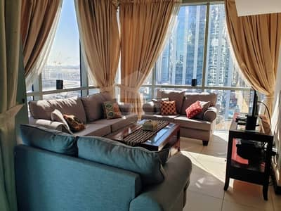 3 Bedroom Apartment for Rent in Jumeirah Lake Towers (JLT), Dubai - Amazing Apartment with Marina view in High Floor