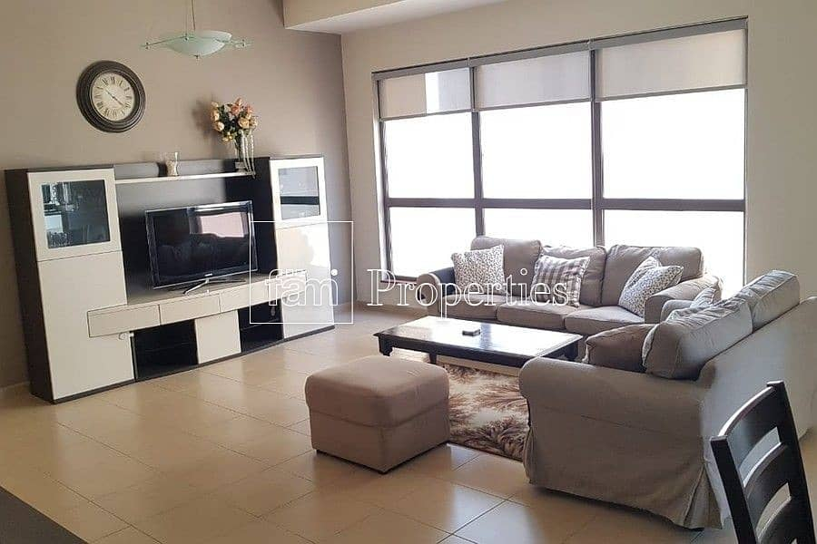 fully furnished partial sea view mid floor