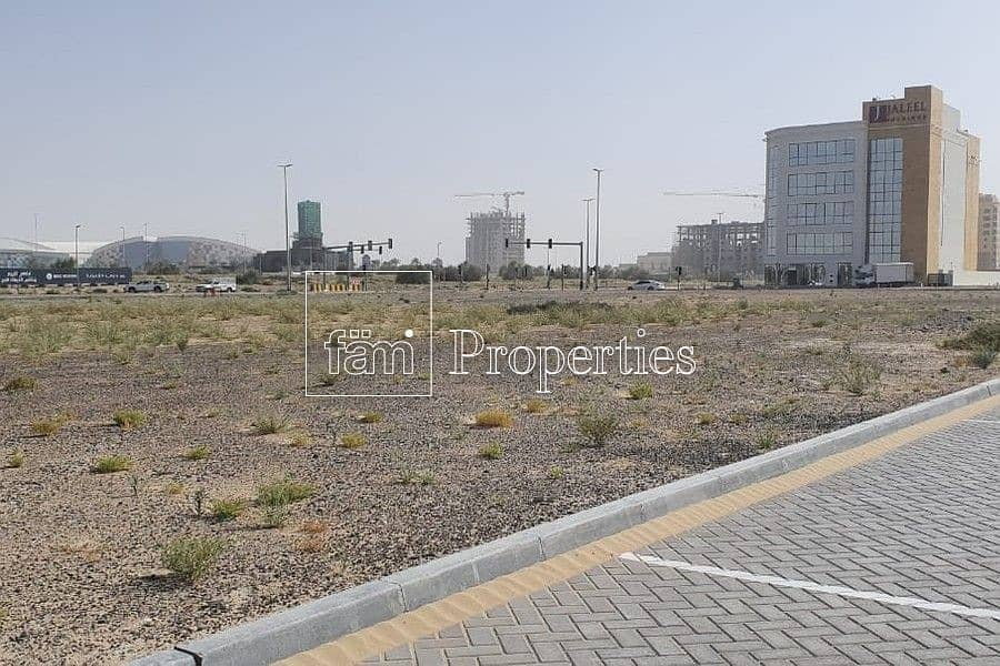 11 Mixed Use G+16 Plot In Majan For Sale