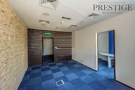 مکتب  للايجار في أبراج بحيرات الجميرا، دبي - Fitted Office   Silver Tower   JLT  Park & Lake view