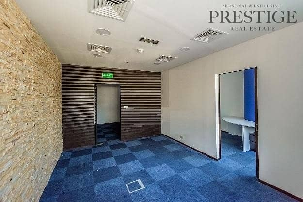 2 Fitted Office | Silver Tower | JLT |Park & Lake view