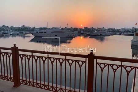فلیٹ 3 غرف نوم للايجار في نخلة جميرا، دبي - Unique and Rare Property|Sunset and Sea Views