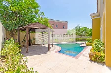 فیلا 5 غرف نوم للايجار في المرابع العربية، دبي - Stunning Type-11 Villa |Upgraded | Private Pool