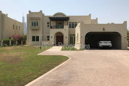 فیلا 5 غرف نوم للايجار في جزر جميرا، دبي - JI Masterview 5 Bedroom /Vacant/Full Lake Views