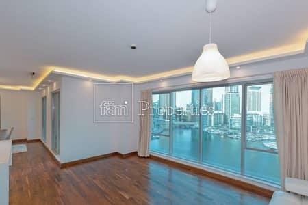شقة 3 غرف نوم للبيع في دبي مارينا، دبي - Unique Upgraded 3Br Apt with Full Marina Views