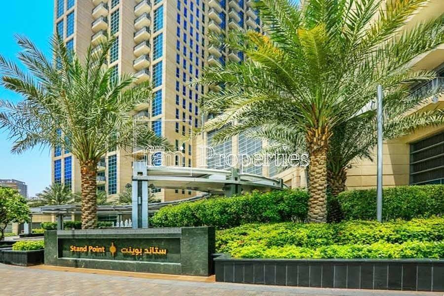 Burj & Fountain Views    3 BHK + Maid   Penthouse